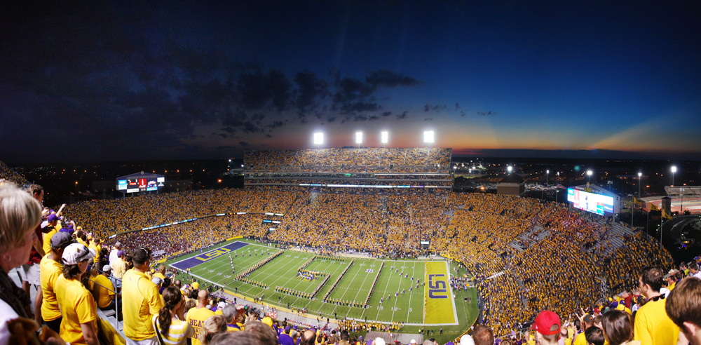 """LSU Band - LSU Stadium"" by Erik Larson vi aFlickr Creative Commons"
