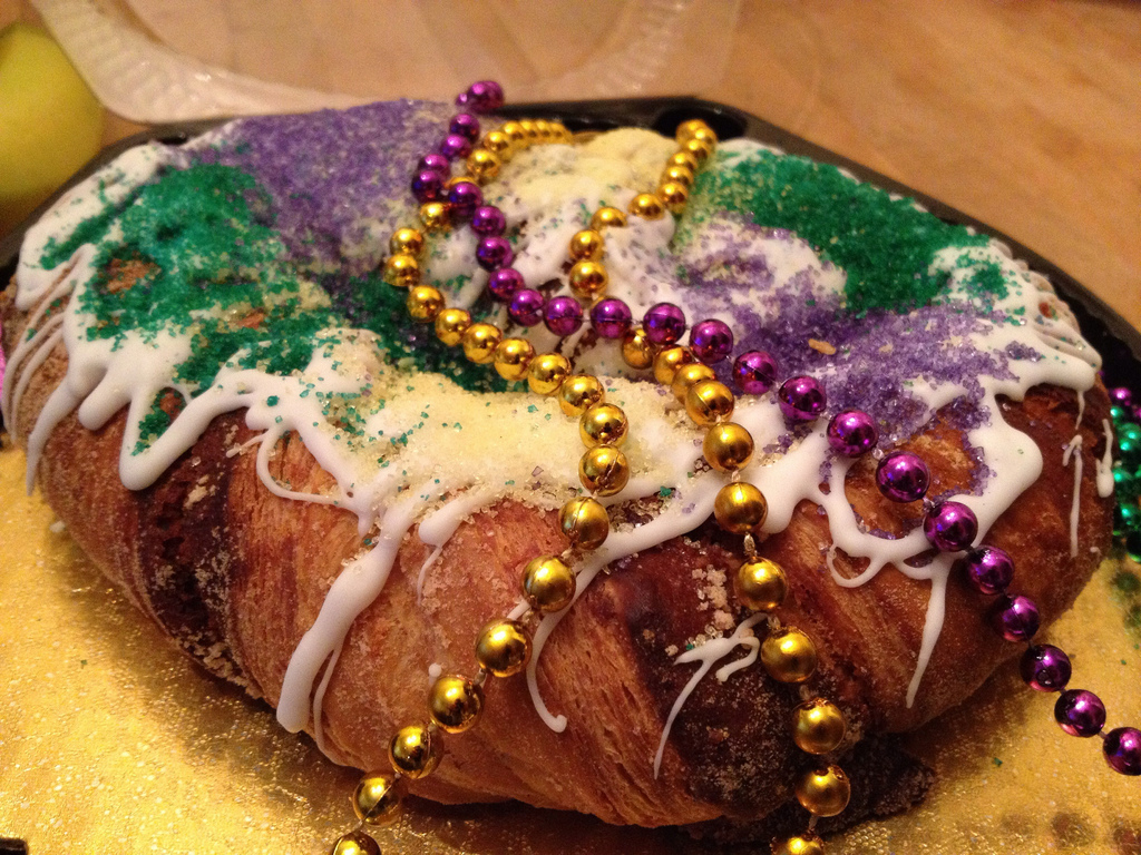 """King Cake!"" by Phil Denton via Flickr Creative Commons"