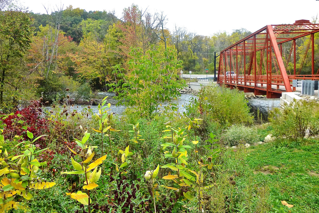 """Bridge View, Delhi Mills, Near Huron River Drive, Ann Arbor"" by Deb Nystrom via Flickr Creative Commons"