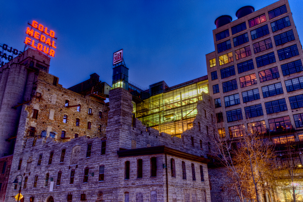 """Mill City Museum (In Living Color!)"" by A Brand New Minneapolis via Flickr Creative Commons"