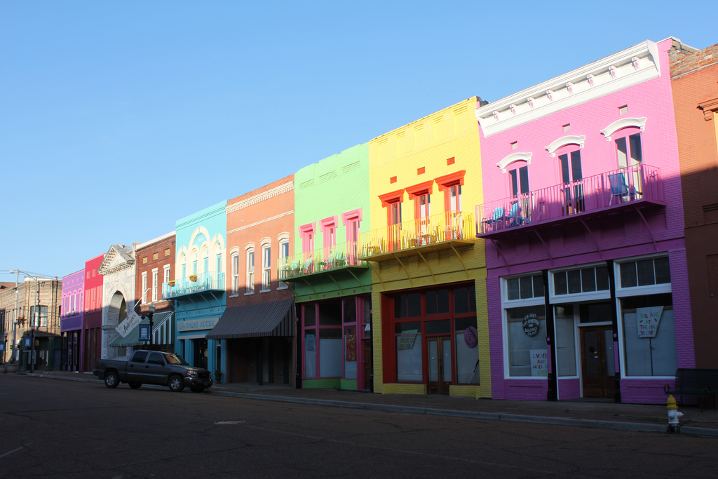 """Downtown Yazoo City"" by Joseph A. via Flickr Creative Commons"