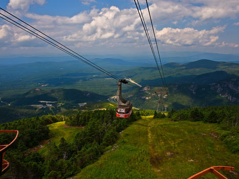The cannon mountain aerial tram timothy valentine