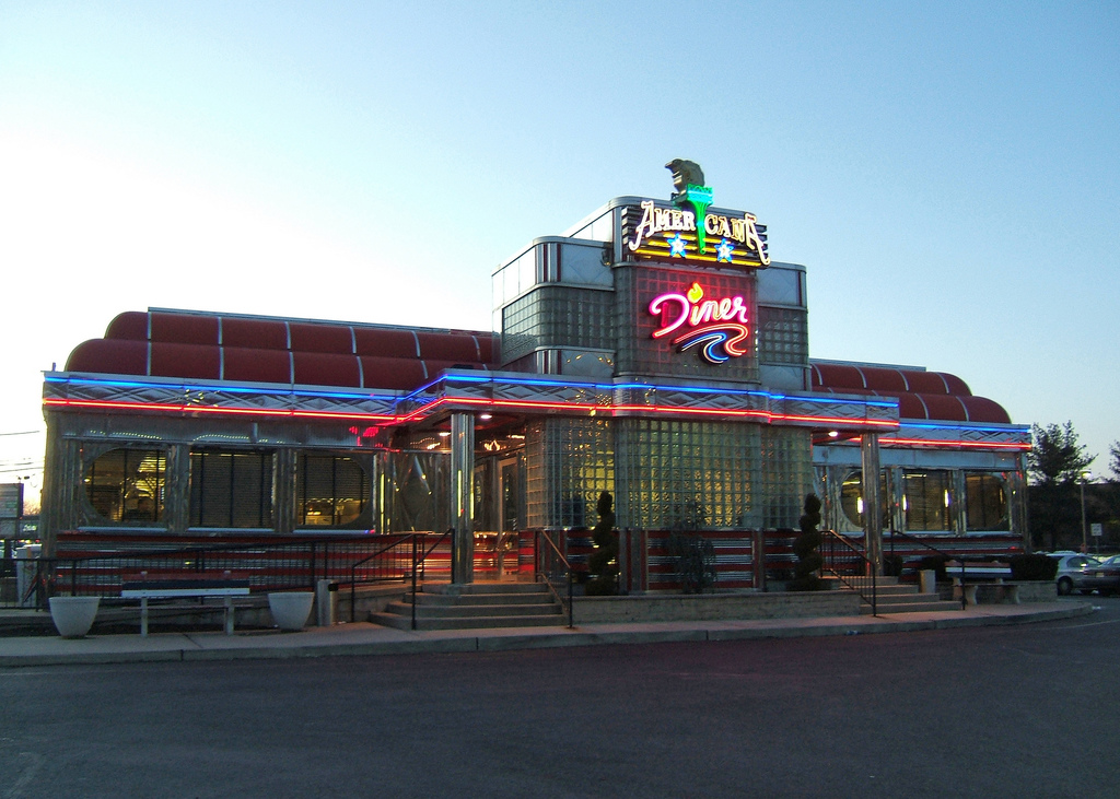 """""""The Americana Diner"""" by Tony Fischer via Flickr Creative Commons"""