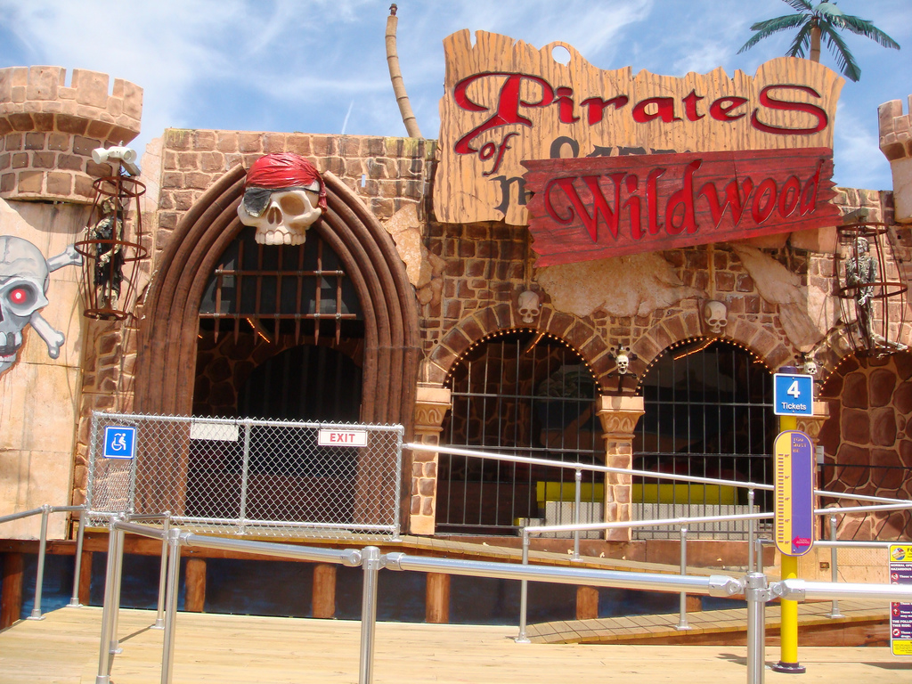"""Pirates of Wildwood at Morey's Pier"" by Martin Lewison via Flickr Creative Commons"