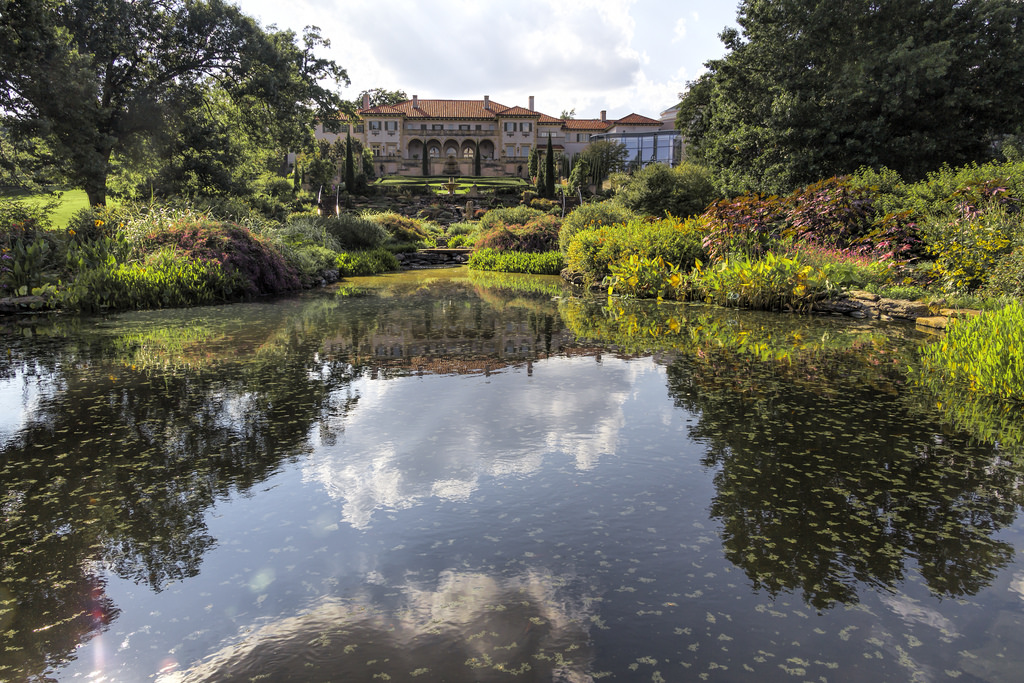 """Philbrook Musem and Gardens"" by Kool Cats Photography via Flickr Creative Commons"