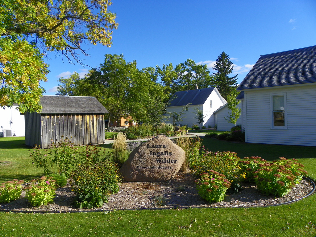 """Laura Ingalls Wilder Memorial Site"" by J. Stephen Conn via Flickr Creative Commons"