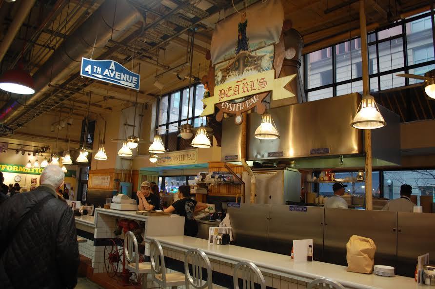 Reading terminal market america 39 s og food hall for Fish restaurant philadelphia