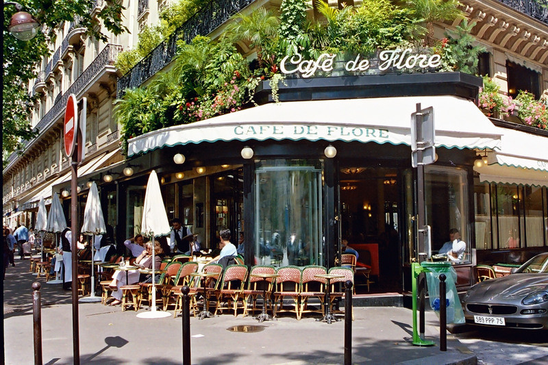"""""""Cafe de Flore"""" by Ted Wang via Flickr Creative Commons"""