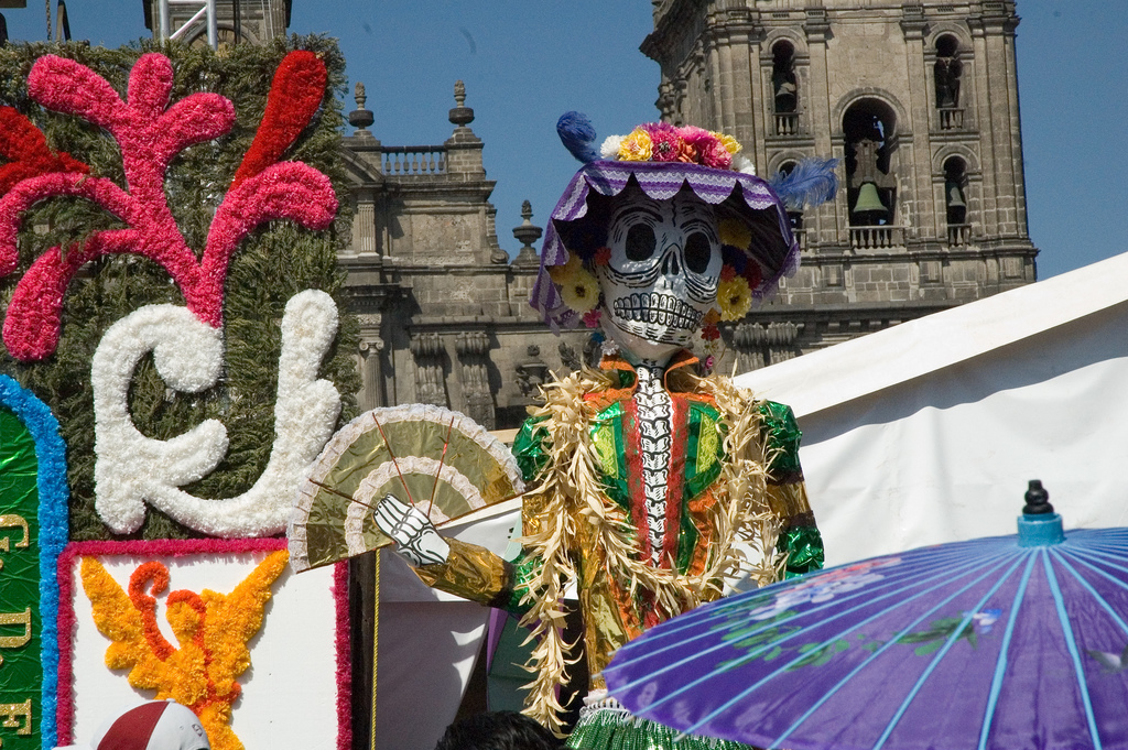 """Day of the Dead Display"" by Paul Asman and Jill Lenoble via Flickr Creative Commons"