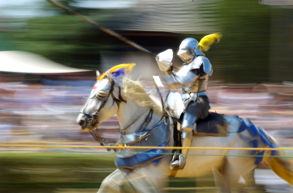 """Jousting"" by Jeff Kubina via Flickr Creative Commons"