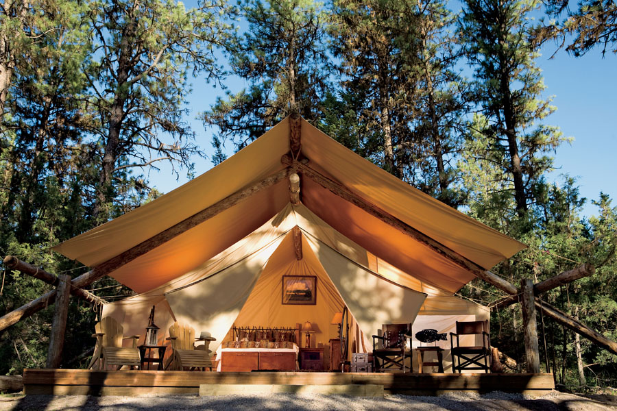 The 5 Best Places to Go Glamping (Glam Camping)