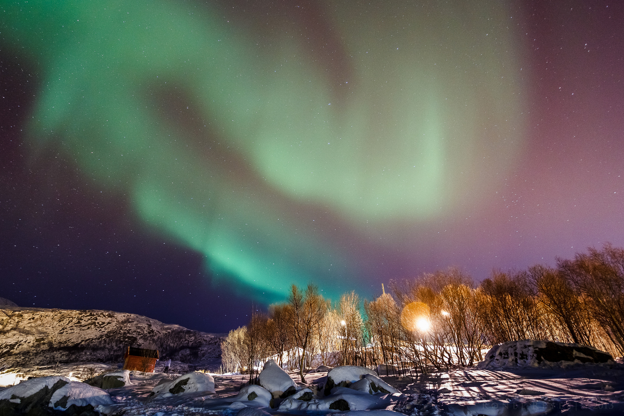 """Tromsø Northern Lights"" by Ronel Reyes via Flickr Creative Commons"