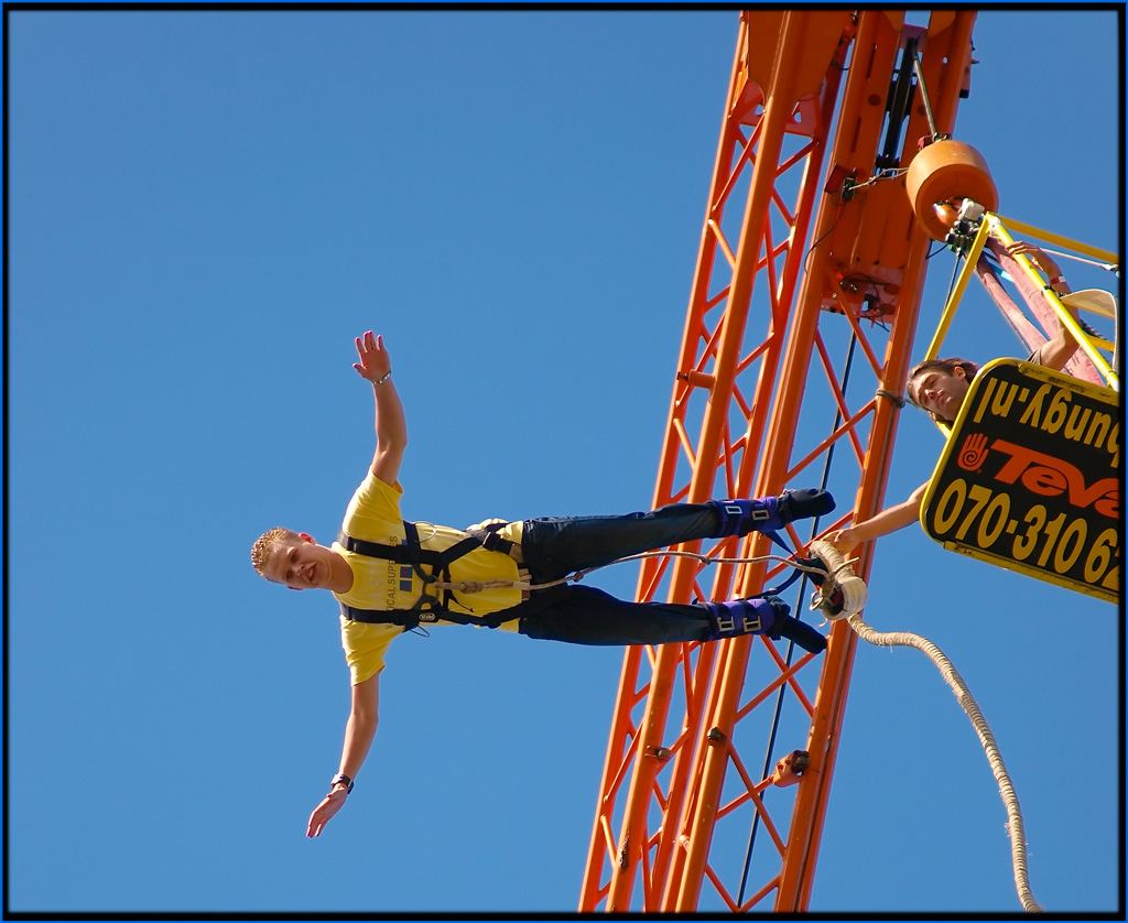 """Bungee Solo With Trying to Keep Cool Face"" by Jcsuperstar60 via Flickr Creative Commons"