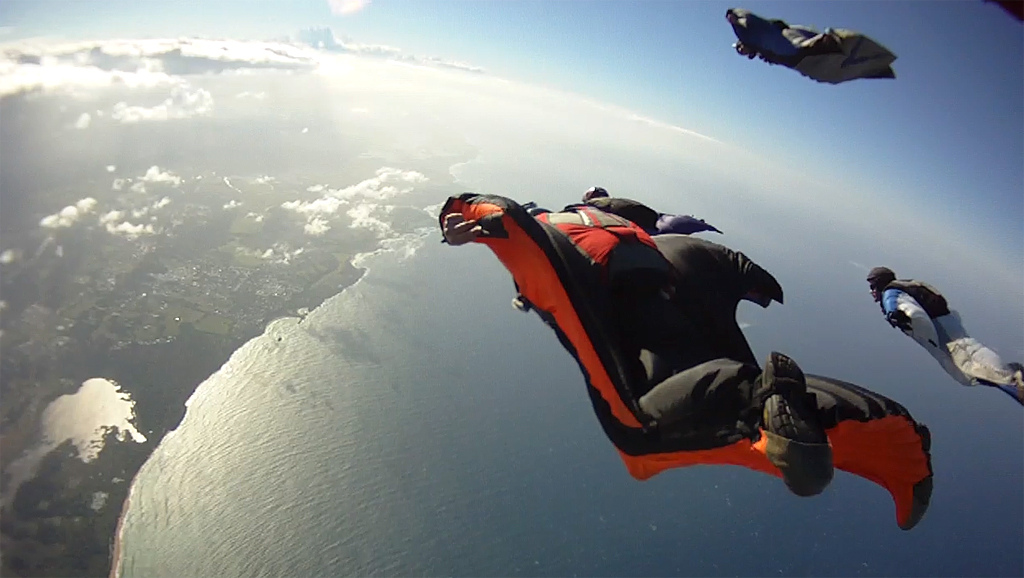 Wingsuit flying: The Newest Adrenaline Rush