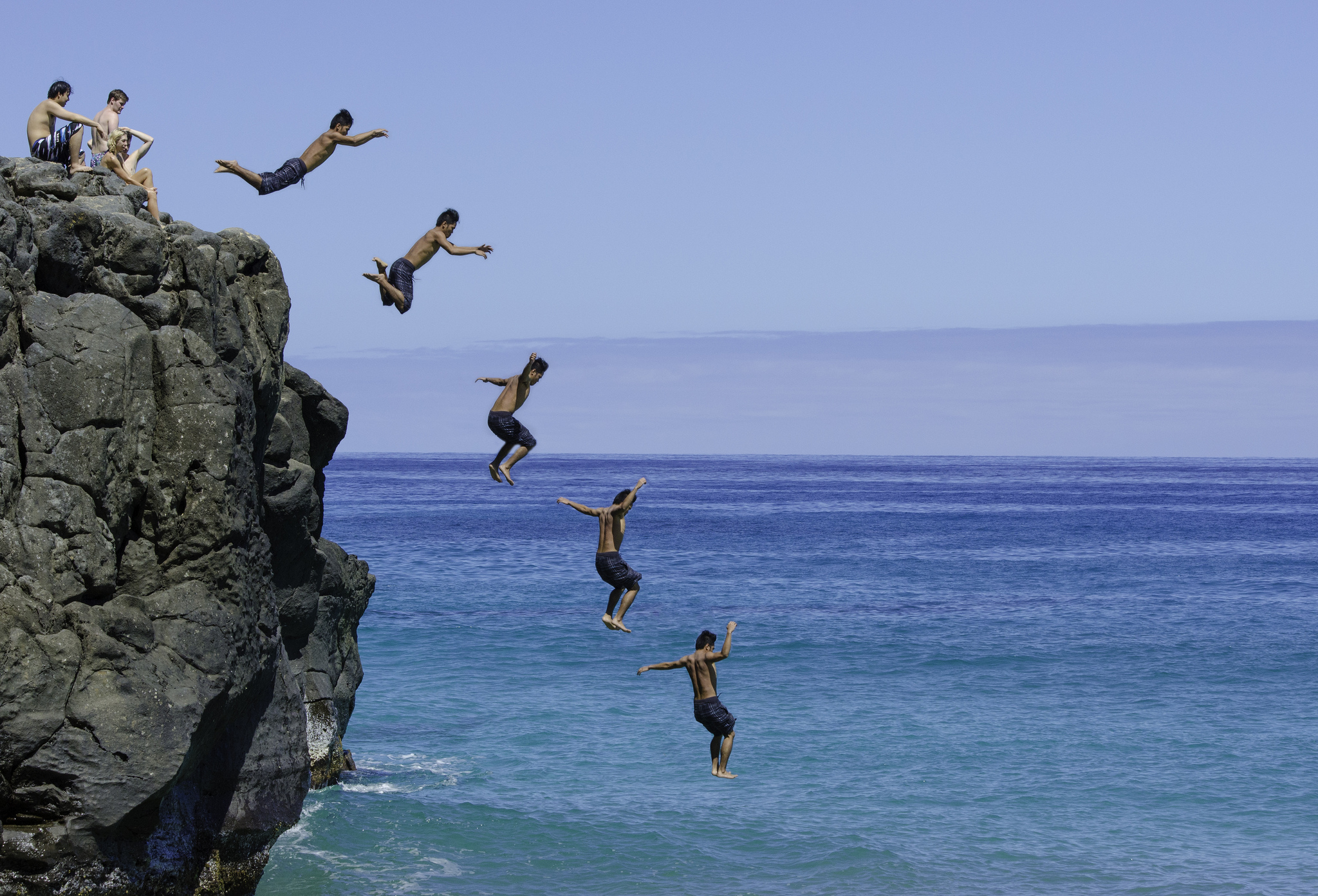 World's Best Cliff Diving: Drop it Like it's Hot