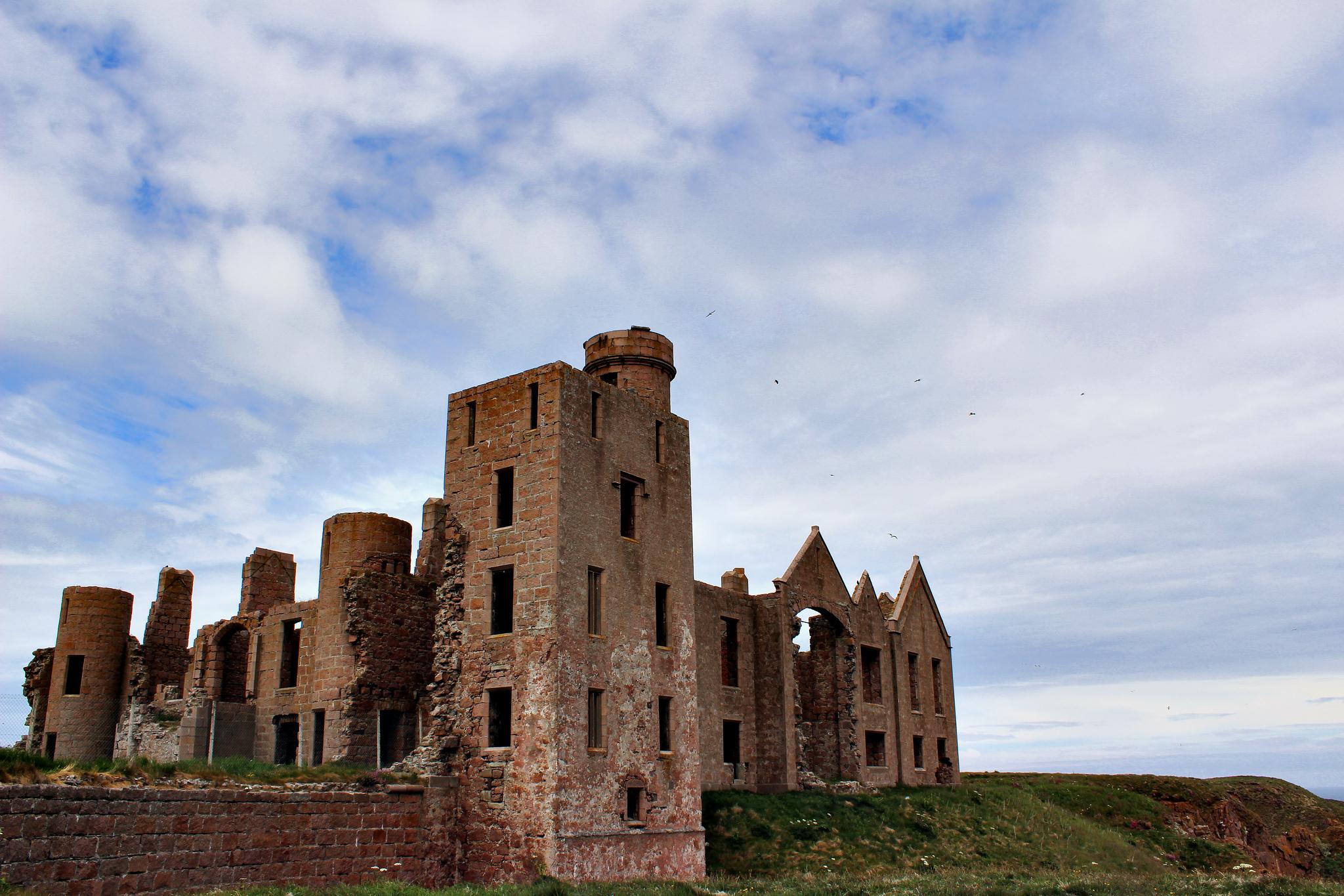 """New Slains Castle"" by Alice via Flickr Creative CommonsN"