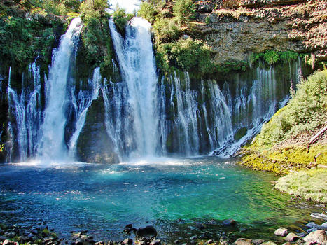 Burney falls   don graham