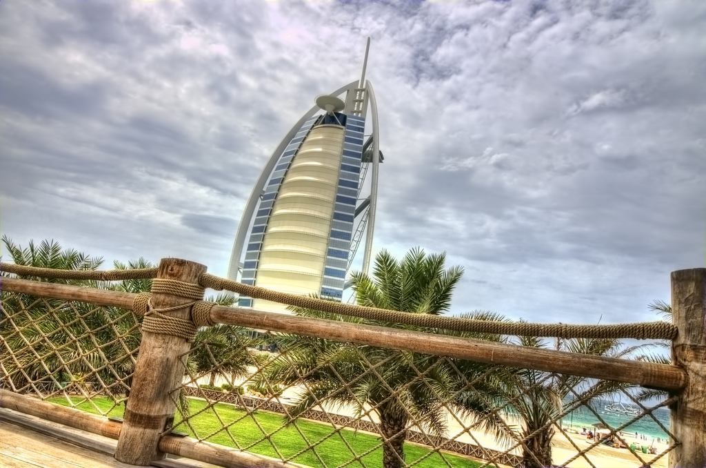 """Burj Al Arab"" by Walid Mahfoudh via Flickr Creative Commons"