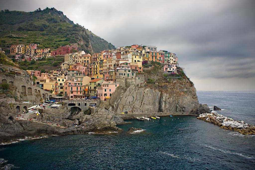 """""""Riomaggiore, Cinque Terre"""" by Xavier via Flickr Creative Commons"""