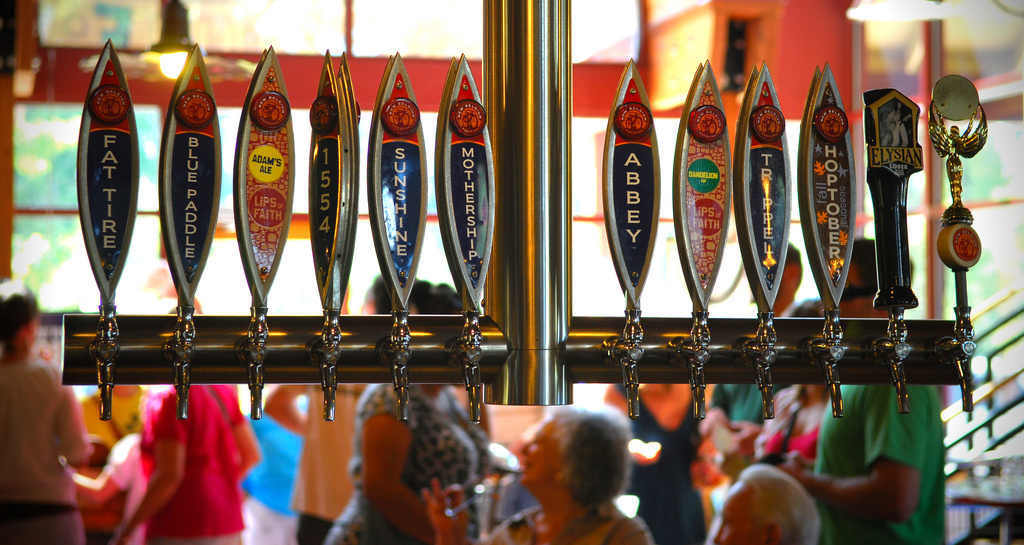 """New Belgium Beers on Tap"" by Quan Ha via Flickr Creative Commons"