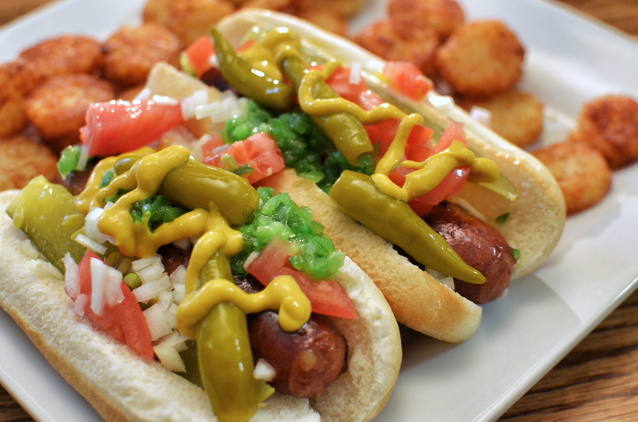 """Chicago Style Hot Dogs"" by Jeffreyw via Flickr Creative Commons"