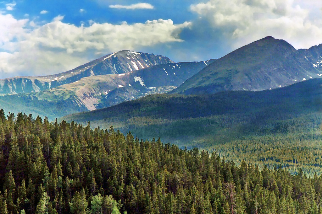 """Ten Mile Range outside Breckenridge"" by Steven Martin via Flickr Creative Commons"