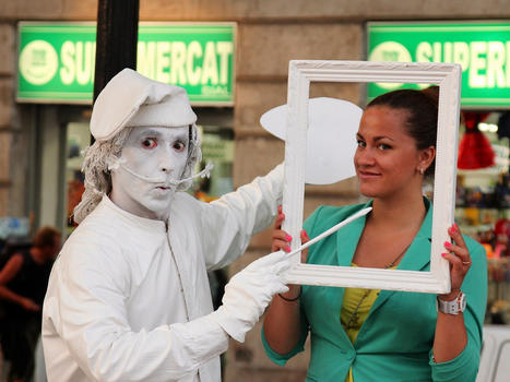Street performer jan hammershaug