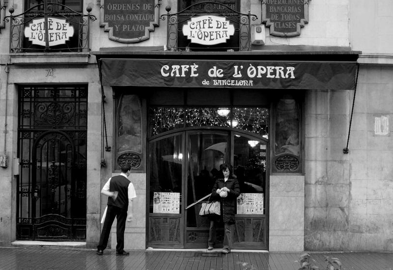 """Cafe de L'opera."" by Elisabeth Skene via Flickr Creative Commons"