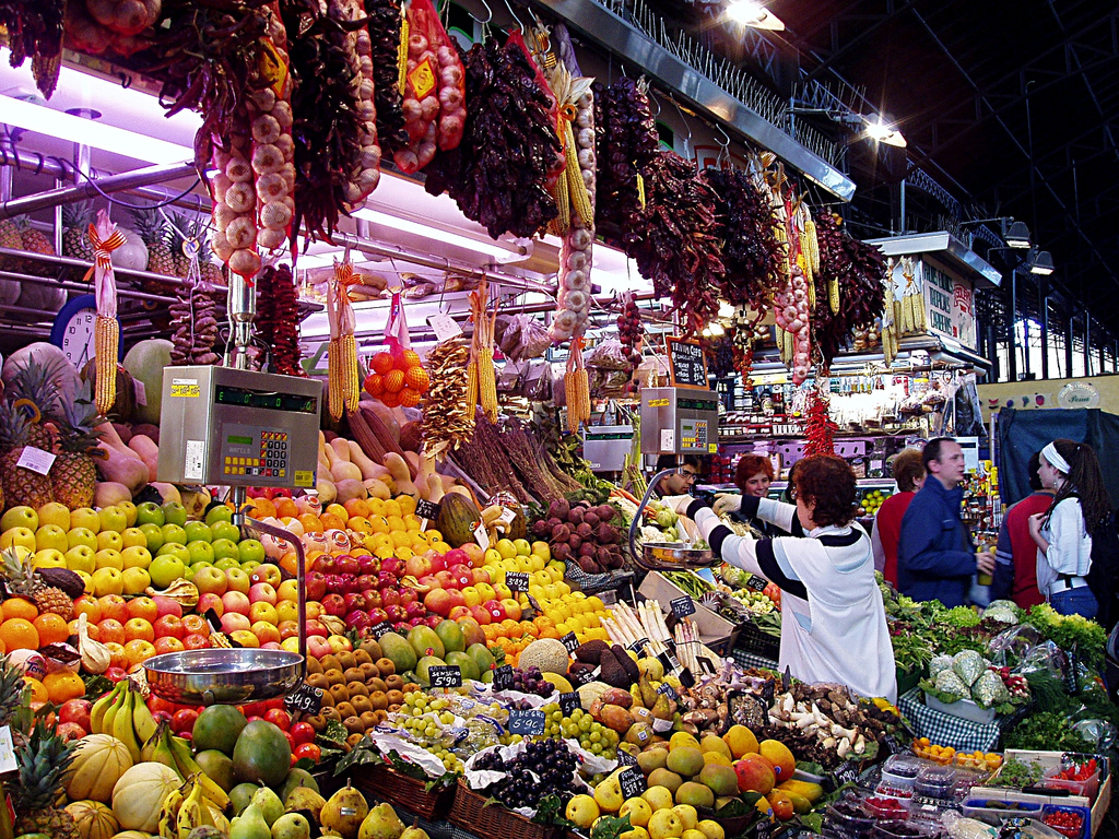 """Barcelona - The Covered Market"" by Jason via Flickr Creative Commons"
