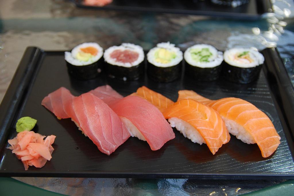 """Nigiri Sushi, Hosomaki - Uta Sushi Bar"" by Alpha via Flickr Creative Commons"