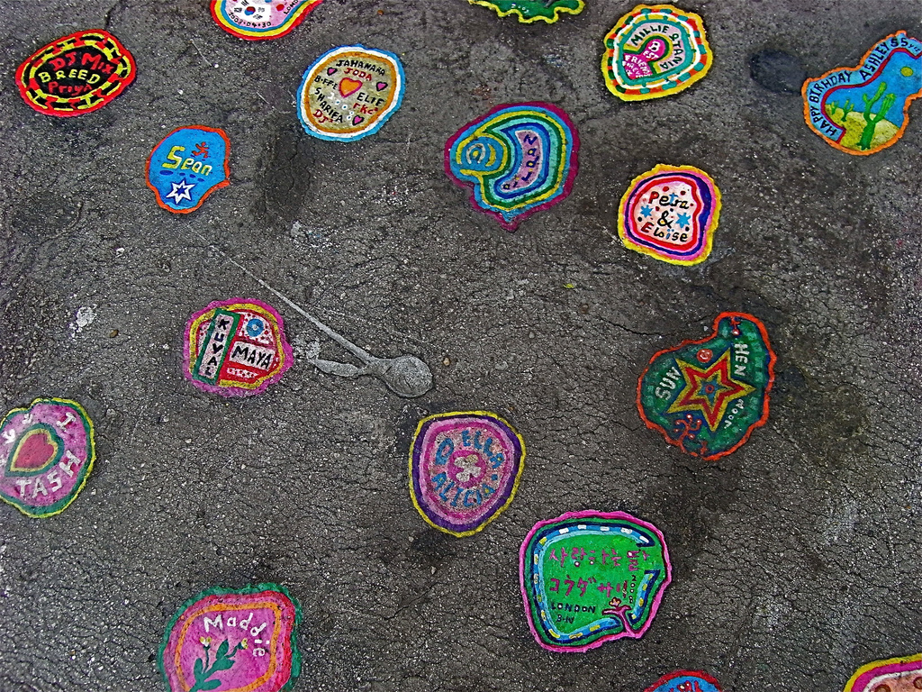 """Chewing Gum Art"" by Judith via Flickr Creative Commons"