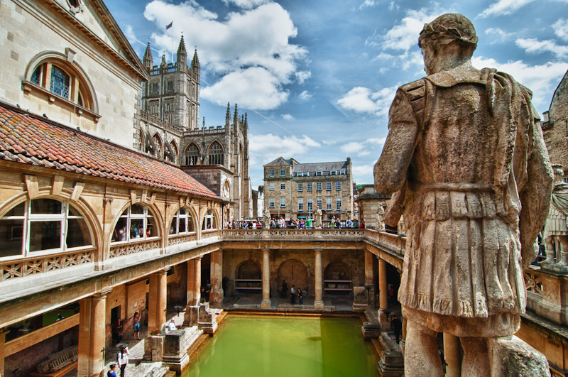 """Roman Baths, Bath, England"" by Treye Rice via Flickr Creative Commons"