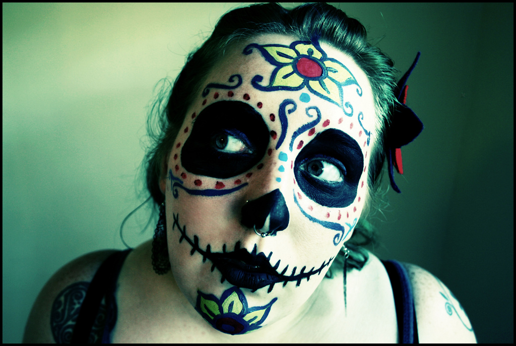 """321/365 Dia de los Muertos"" by Katie Cowden via Flickr Creative Commons"