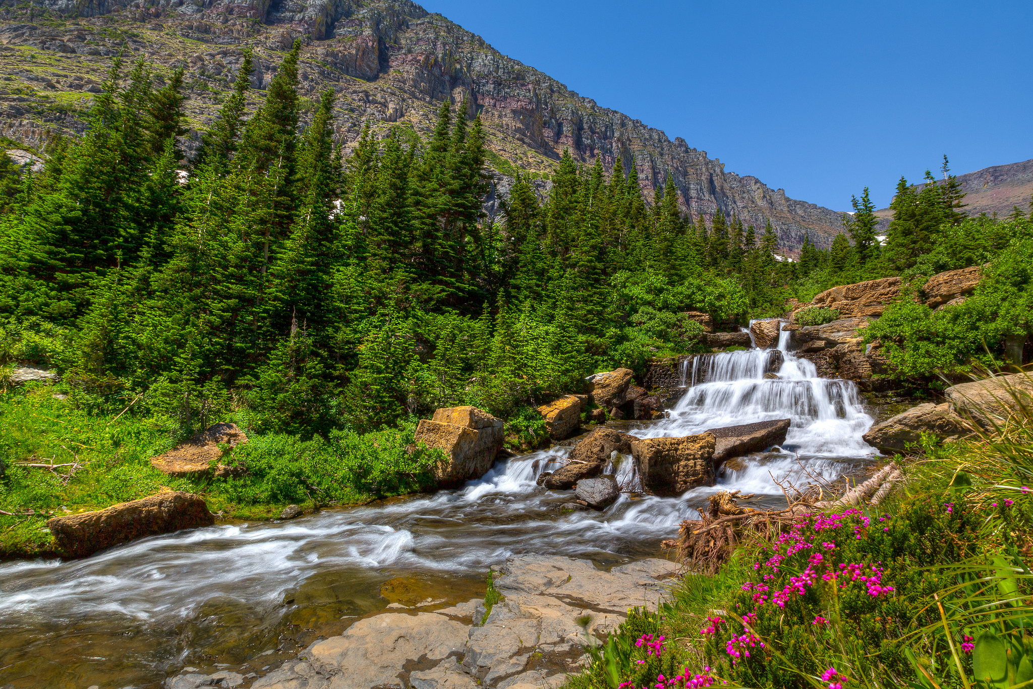 """""""Glacier - Lunch Creek"""" by Jeff Krause via Flickr Creative Commons"""
