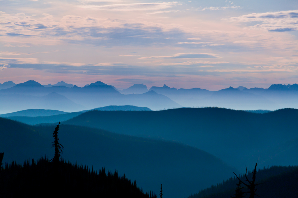 """Whitefish Range Sunrise"" by Troy Smith via Flickr Creative Commons"