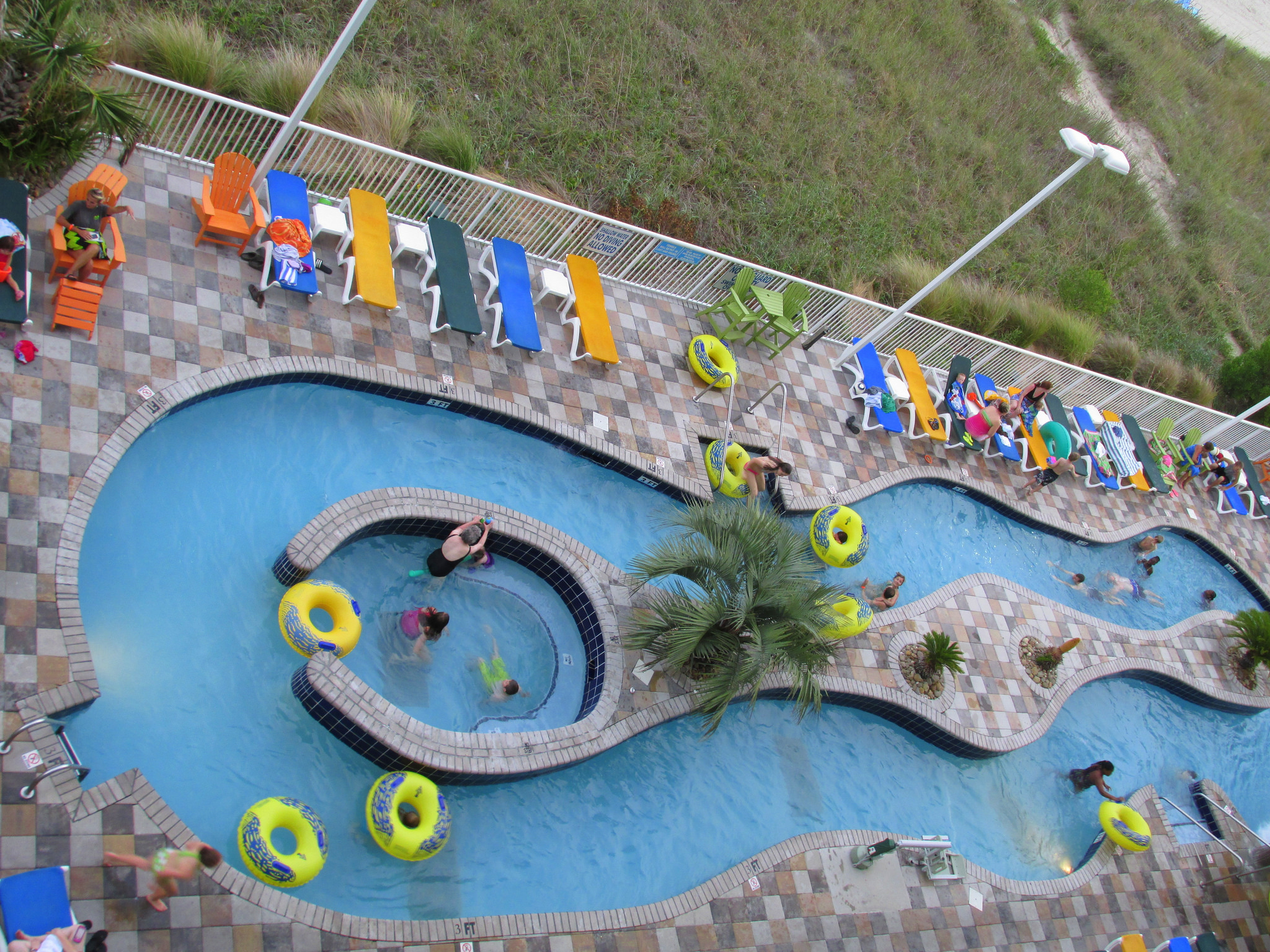 """Lazy River from Hotel Balcony, MB, 21 June 2014"" by Mwms1916 via Flickr Creative Commons"
