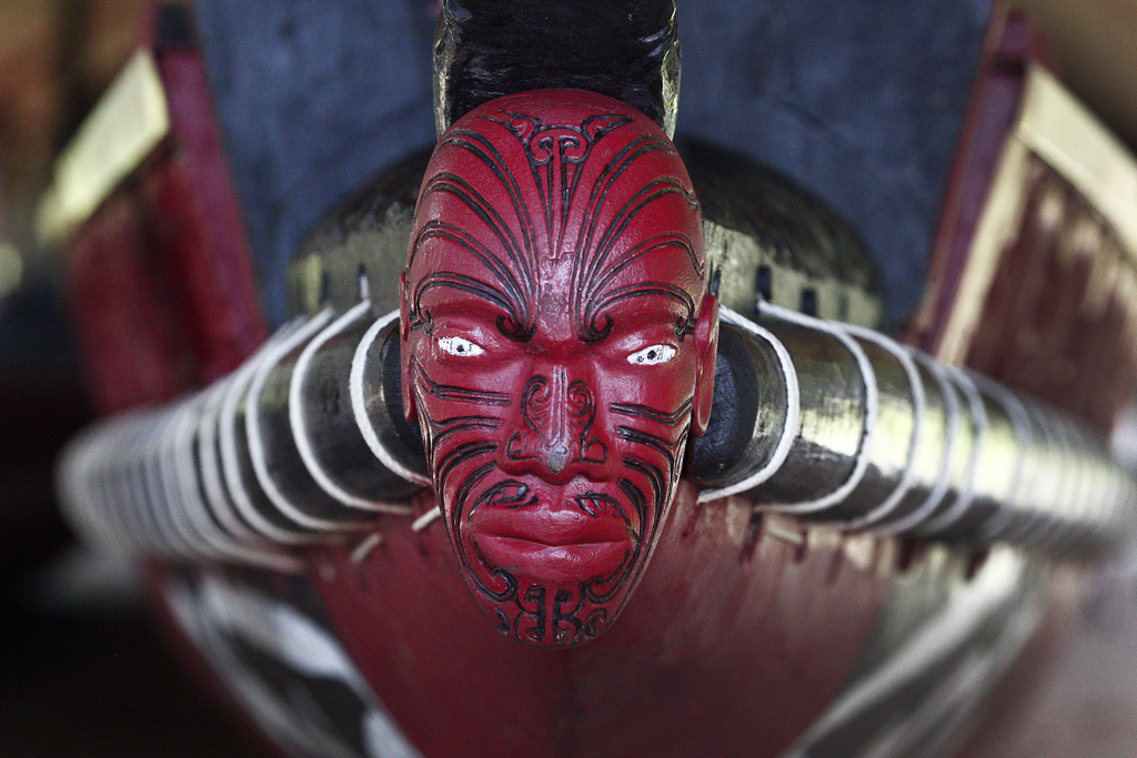 """New Zealand: Maori Culture 005"" by Steve Evans via Flickr Creative Commons"