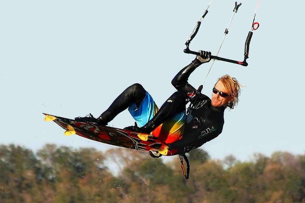 """Kiteboarding - Sean"" by Ken Slade via Flickr Creative Commons"