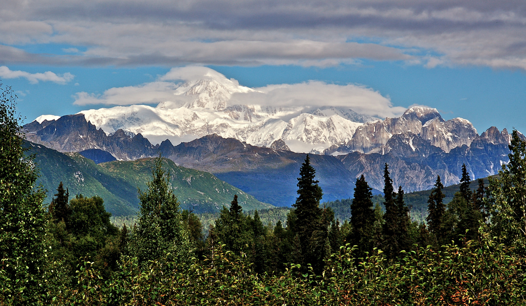 """Mount McKinley"" by Launa via Flickr Creative Commons"