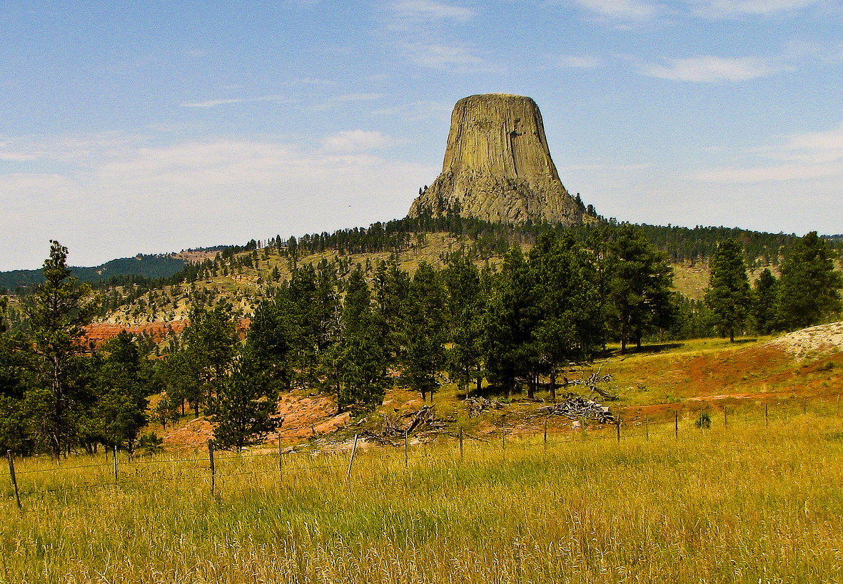 """Devil's Tower"" by LDELD via Flickr Creative Commons"