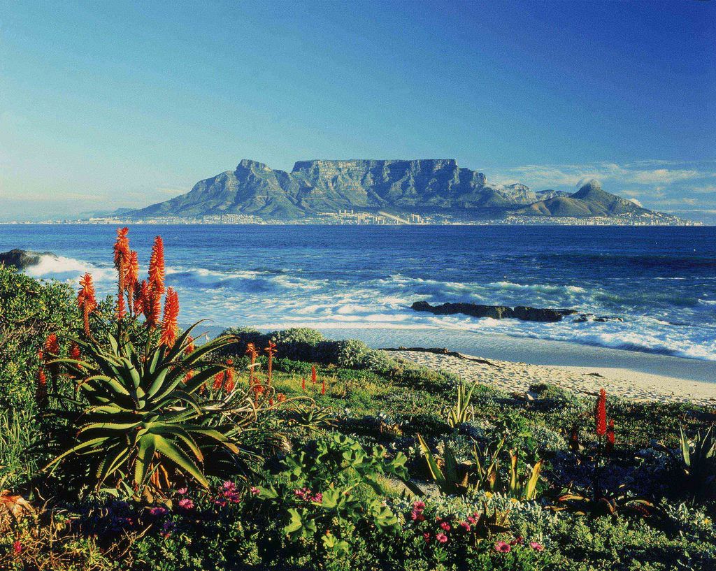 """Table Mountain - South Africa"" by South Africa Tourism via Flickr Creative Commons"