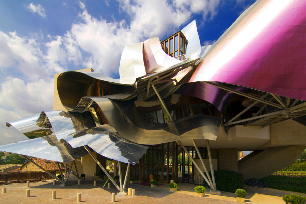 """Marqués de Riscal"" by Wojtek Gurak via Flickr Creative Commons"
