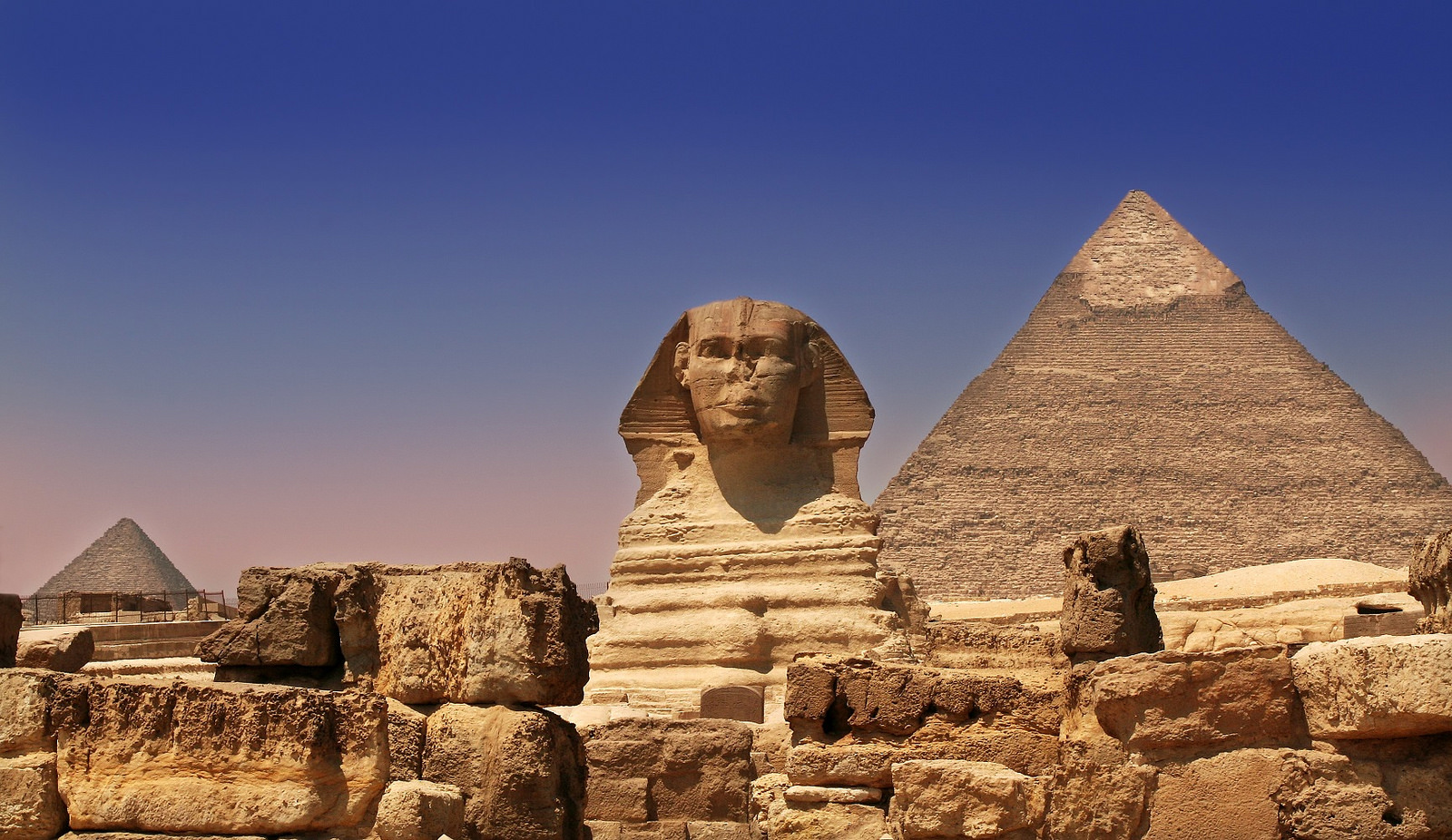 """Giza Pyramids & Sphinx - Egypt"" by Sam Valadi via Flickr Creative Commons"