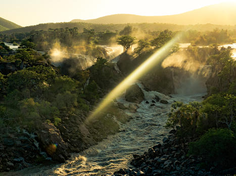 Epupa falls   namibia