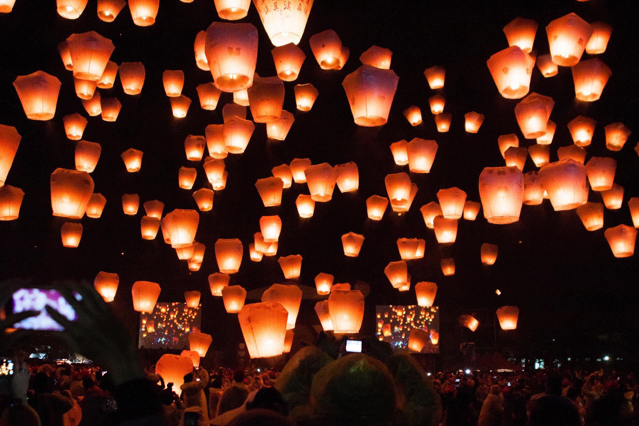 Pingxi Sky Lantern Festival 2014 in Taiwan Photo by Jirka Matousek via Flickr Creative Commons