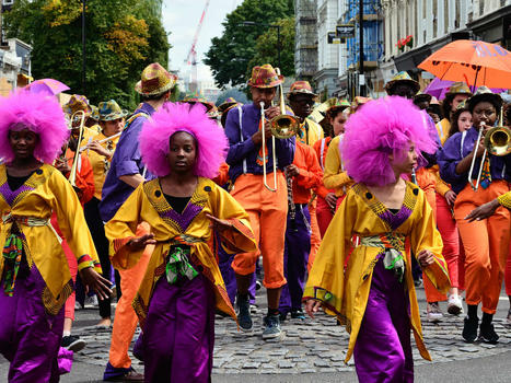 Festivals  london notting hill carnival