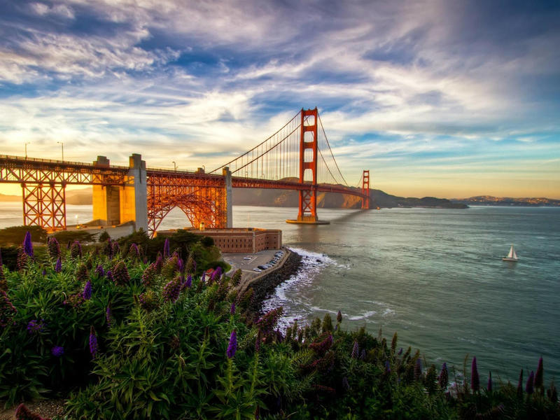 City  the golden gate bridge is located in san francisco california and is one of the most popular destinations in all of northern ca