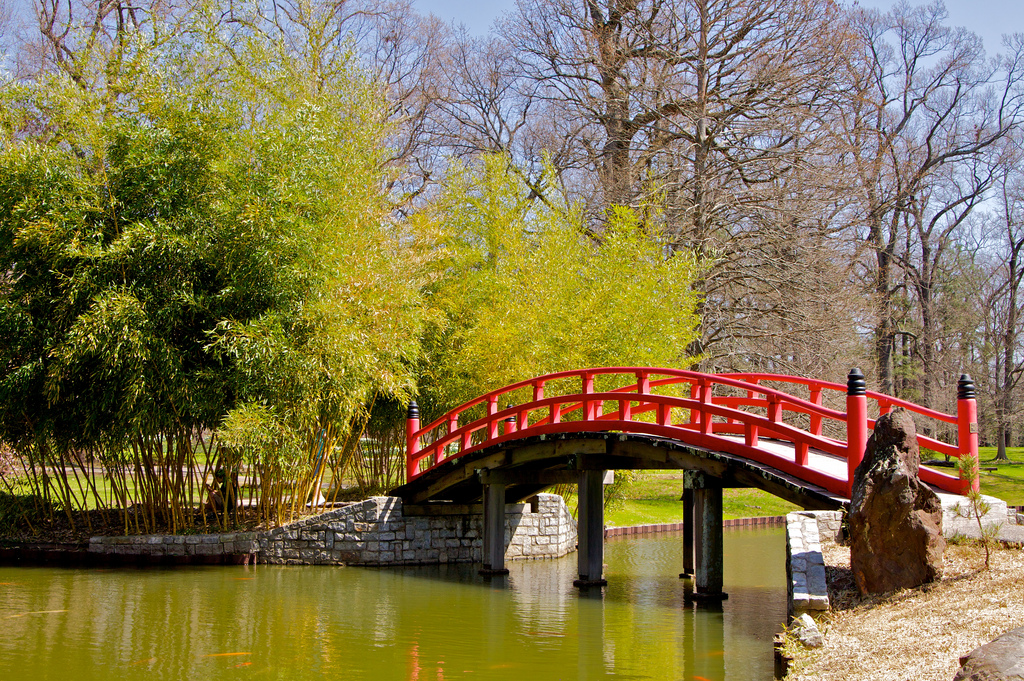 """Japanese Bridge"" by H. Michael Miley via Flickr Creative Commons"
