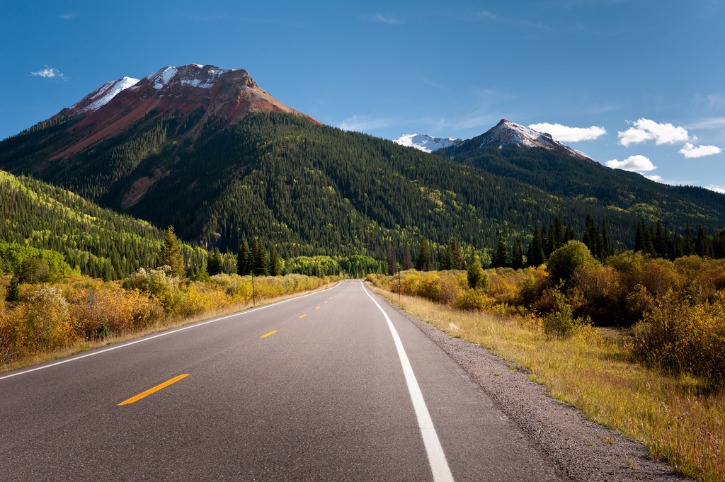 """Million Dollar Highway (Red Mountain)"" by Felix Lamouroux via Flickr Creative Commons"
