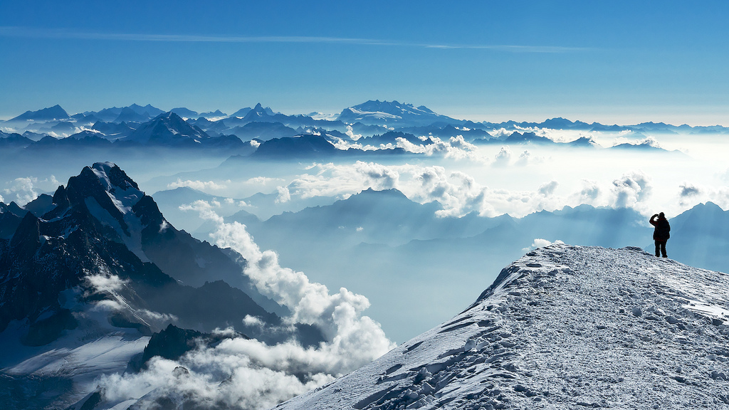 """""""Mont Blanc ... 8"""" by Tom Fahy via Flickr Creative Commons"""